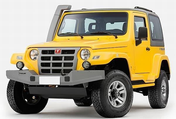 以前の「Troller T4」  Jeep Wrangler に似たフロントフェイスが特徴でした