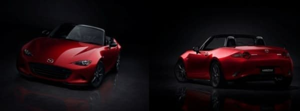 「Mazda MX-5(日本名:マツダロードスター)」