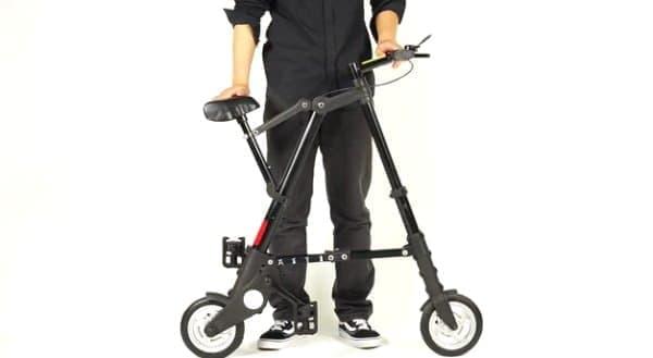 クライブ・シンクレア氏が設計した「A-bike」  筆者も持ってます!