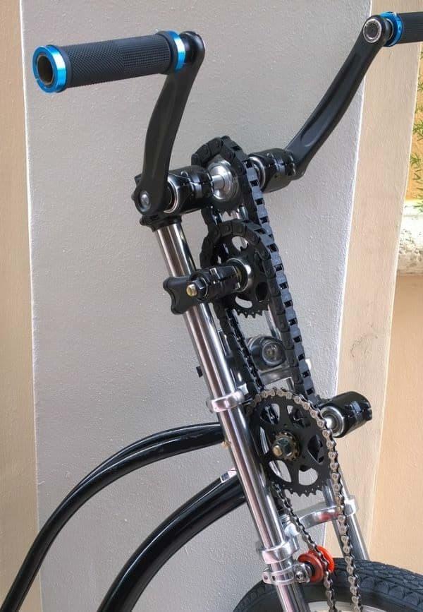 「Dual Drive Fitness Bike」では前輪に伝えられる