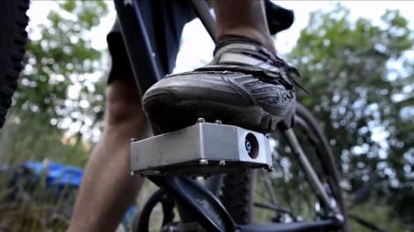 「立ちゴケ」の解消を目指した自転車用ペダル「MagLOCK」