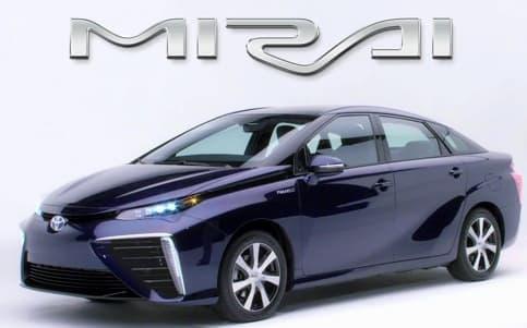 トヨタの新型燃料電池自動車「MIRAI(ミライ)」