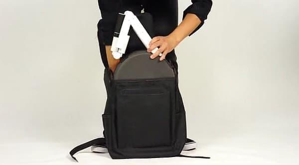 手に持つのではなく、バックパックに入れて背負えば、5キロは割と楽です