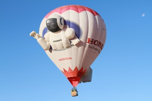 ユニークな気球も参加(画像提供:ツインリンクもてぎ)