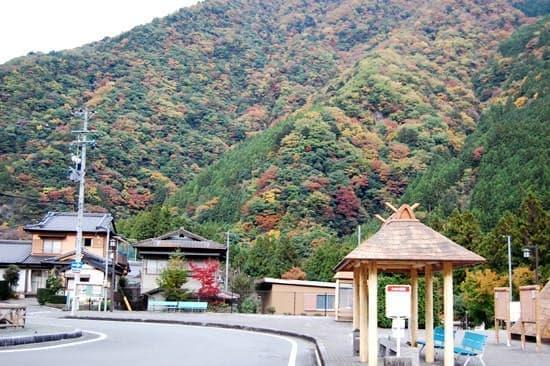 奥泉駅周辺(出典:大井川鐵道)