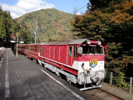 接岨峡温泉駅(出典:大井川鐵道)