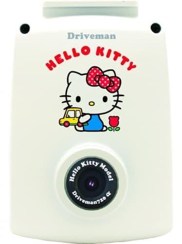 キティさんがドライブレコーダに