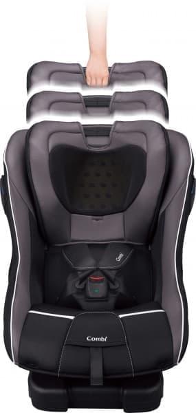 マルゴットシリーズは、ヘッドレストの高さを変えられるのが特徴