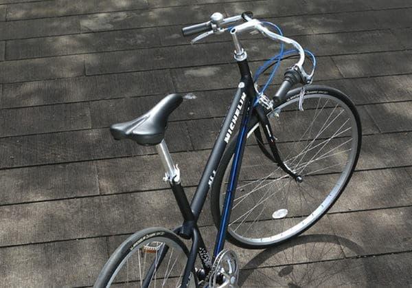 ミシュランタイヤの自転車「パリ・ブレスト」シリーズ  (画像は昨年12月に発売された「パリ・ブレスト スポール」)