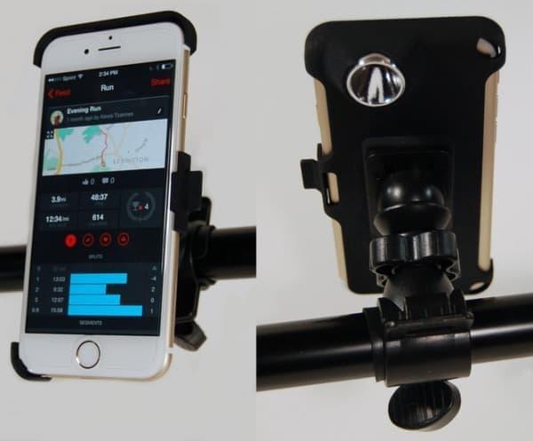 「Bikelops」は、iPhone 用の自転車マウントとして利用できる  iPhone を自転車用ナビシステムとして利用する人には便利だろう