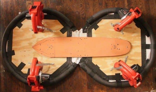 Craven さんの製作した「ホバーボード」