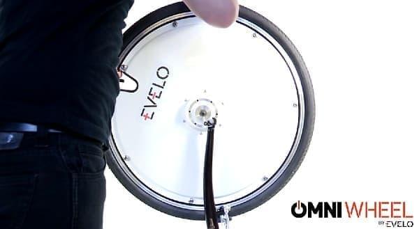 「Omni Wheel」を取り付けるだけ  自転車整備に慣れた人なら30分かかりません