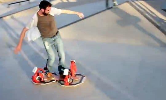 Ryan Craven さんが自作した「ホバーボード」