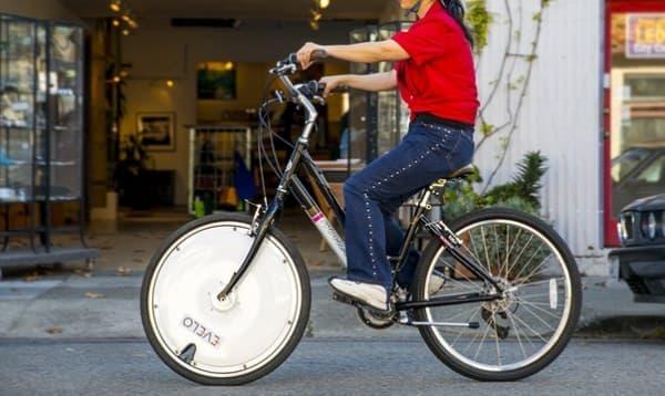 自転車を電動アシスト自転車に変えてくれるホイール「Omni Wheel」