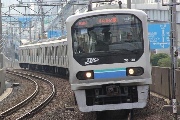 りんかい線のようす(出典:東京臨海高速鉄道)