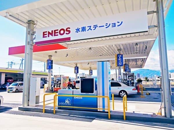 E85 Gas Stations >> ENEOS、ついに「水素ステーション」1号店オープン!神奈川・海老名に [えん乗り]