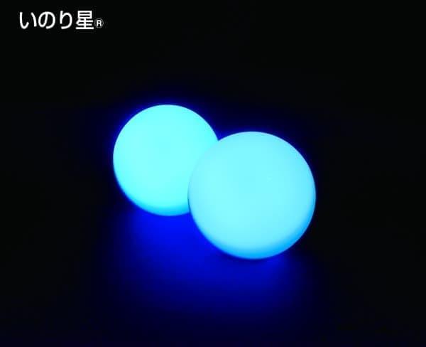 LED 球体「いのり星」