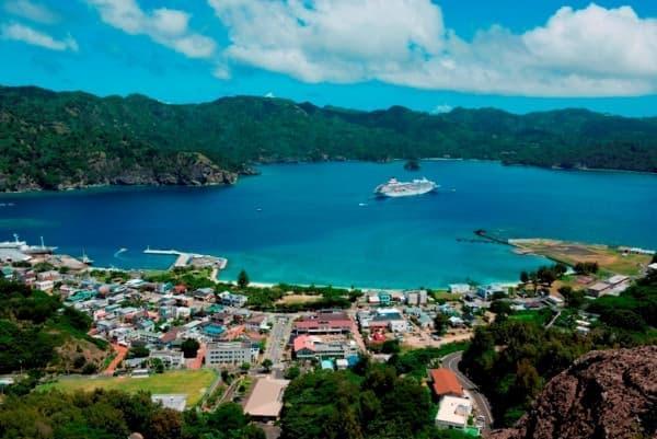 本州のはるか南、小笠原島へも航海する予定