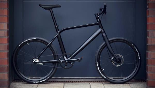 フレームを折り畳まない折り畳み自転車「ThinBike」
