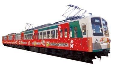 雪見だいふく×上信電鉄でラッピング電車運行