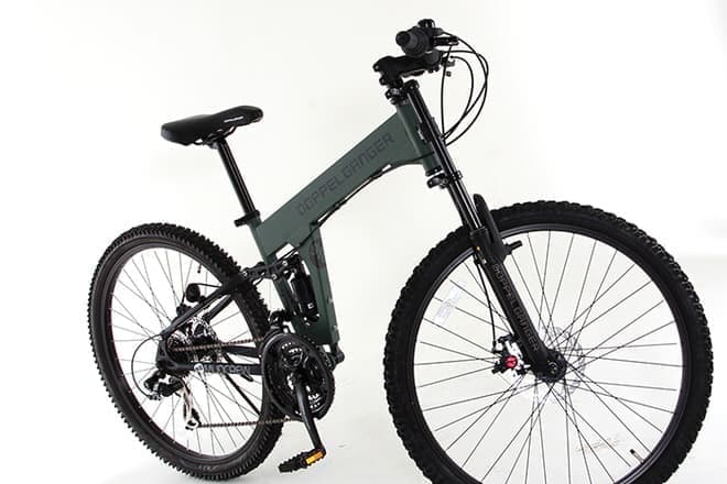 オフロードタイプ自転車「910 MUDCREW」  カラーは「GR:オリーブグリーン」