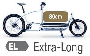 80センチのカーゴスペースを持つ「Extra Long」取り付け車