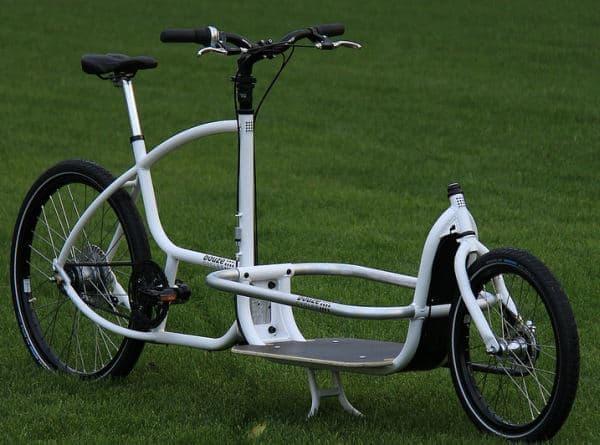 「Douze Cycles」のカーゴバイク