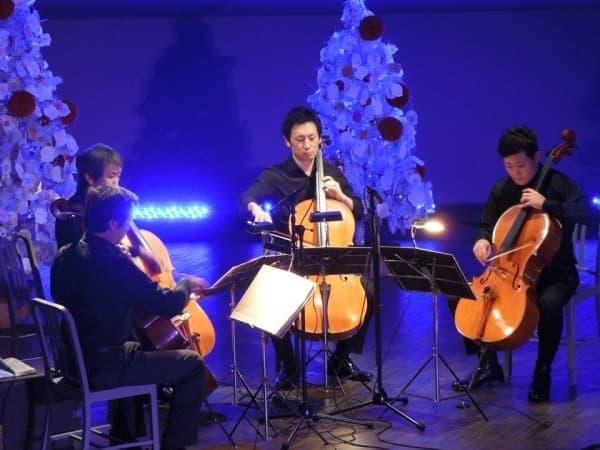 「カルテット アクア」による弦楽器のアンサンブル