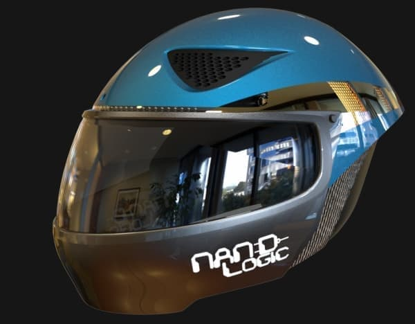 Nand Logic によるスマートヘルメット
