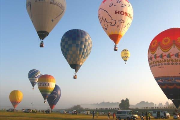 熱気球のアツい戦いが今年もやってくる