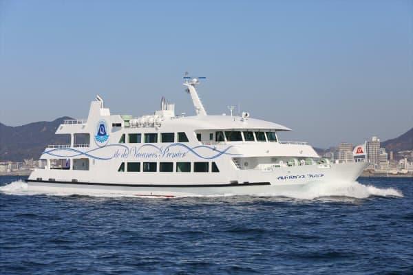 新型高速クルーズ船イルドバカンス プレミア