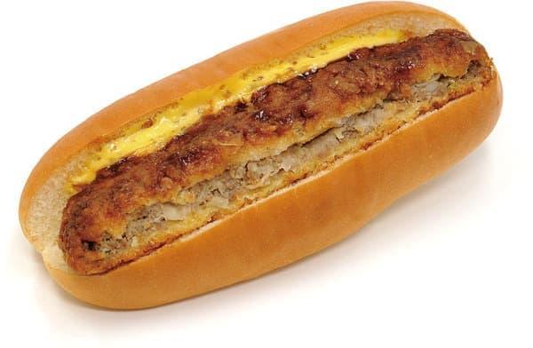 「受カレー」と語呂を合わせたカレーうどんパン
