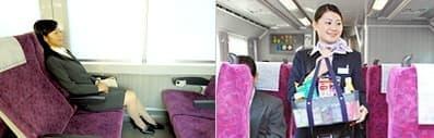 普通列車グリーン車 社内イメージ