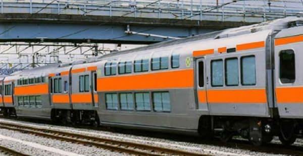 中央快速線グリーン車連結イメージ