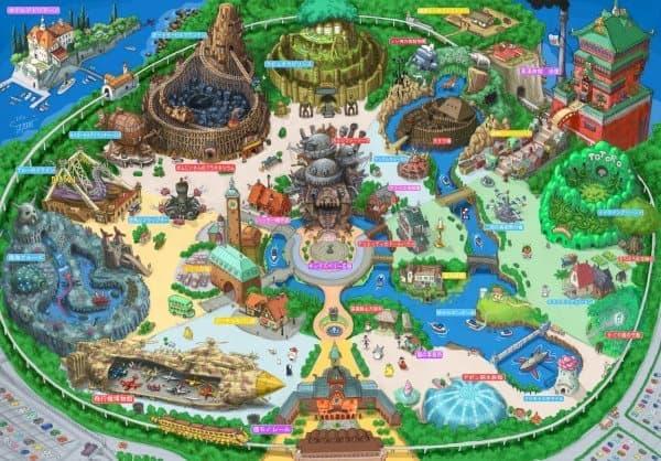スタジオジブリの世界をテーマパークにしてみました デザイナー Takumi