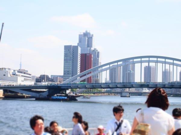 東京港の景色が楽しめる