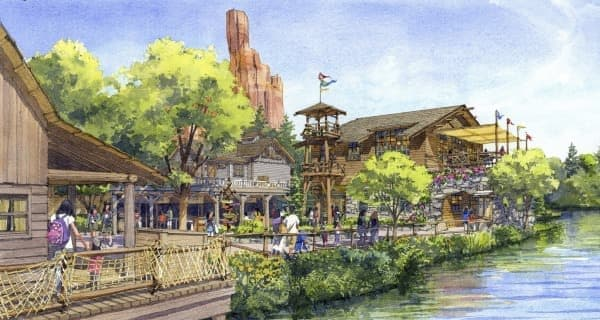レストラン施設(外観イメージ) (C)Disney