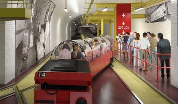 観光電車「Mail Rail」イメージ画像