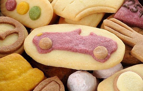 マツダ ロードスターがクッキーに