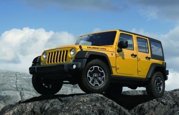 「Jeep Wrangler Unlimited」のカスタマイズ限定モデル「Rubicon Hard Rock」  (カラーは「バハイエロー」)