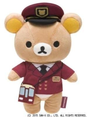 リラックマと阪急電車がコラボ!カワイイ駅長リラックマも