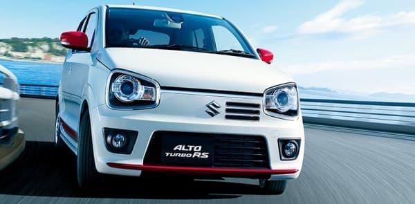 新型「アルト ターボ RS」