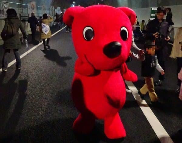 イベントには、千葉県のマスコットキャラクター「チ―バくん」も登場しました。