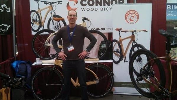 「北米ハンドメイド自転車展」を記念し、Connor Wood Bicycles が製作した