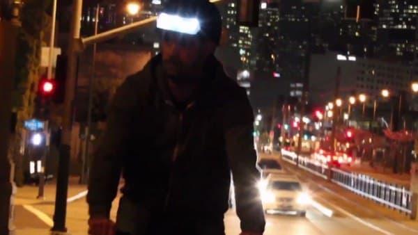 通常の自転車用ライトよりも視認性が高い