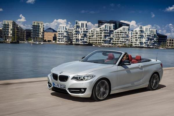 BMW の新型「ニュー BMW 2シリーズ カブリオレ」