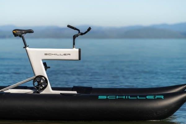 水上を走る自転車「Schiller S1」