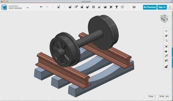 CAD 鉄による鉄道小物のデザイン案、正体は何でしょう