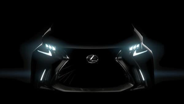 小型車のコンセプトモデル「LF-SA」もまずシルエットをチラ見せし