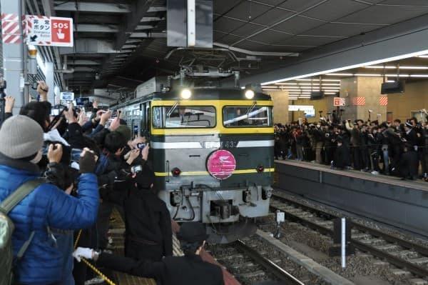 ついに大阪~札幌駅間の運行は終了した